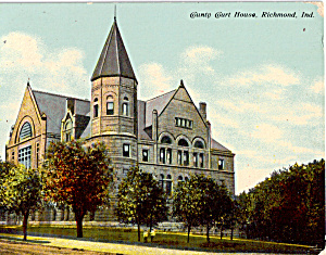 County Court House, Richmond, Indiana (Image1)