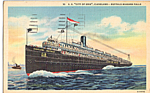 SS City of Erie, Cleveland-Buffalo,Niagara Falls (Image1)