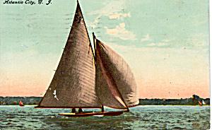 Sail Boat at Atlantic City  New Jersey p20122 (Image1)