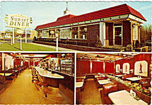 Sunset Colonial Diner, Green Brook, New Jersey (Image1)