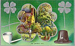The Emerald Isle Vintage Postcard p20167 (Image1)