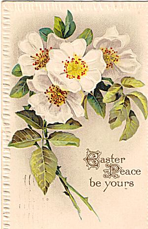 Easter Vintage Postcard p20175 1913 Balboa Stamp (Image1)