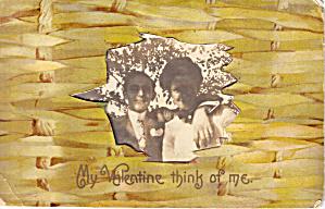 Valentine Novelty  Vintage Postcard p20192 (Image1)