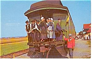 Strasburg Railroad PA Postcard (Image1)
