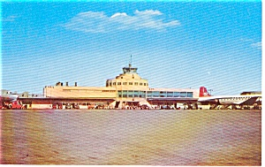 Chicago Midway Airport Postcard