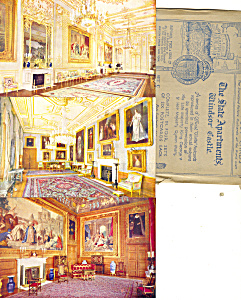 Raphael Tuck Windsor Castle Set Six Cards Rare p21000 (Image1)