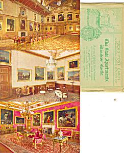 Raphael Tuck Windsor Castle Set Six Cards Rare p21001 (Image1)
