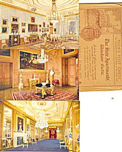 Raphael Tuck Windsor Castle Set Six Cards Rare p21002 (Image1)
