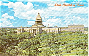 Austin TX  State Capitol Postcard p2100 (Image1)