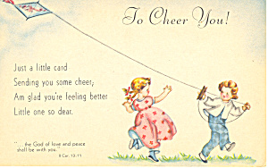 To Cheer You, II Corinthians 13:11 (Image1)