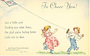 To Cheer You, II Corinthians 13:11 (Image1)