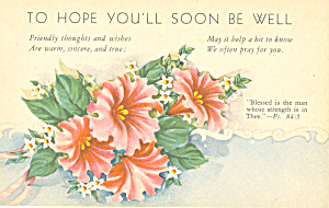 To Hope You'll Soon be Well Psalm 84:5 p21042 (Image1)
