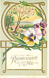 Remember Me Postcard p21051 (Image1)