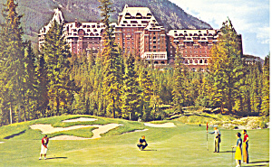 Banff Springs Hotel and Golf Course,Banff National Park (Image1)
