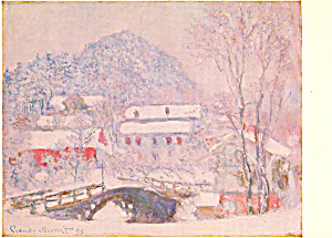 Sandvicken Norway 1895 Claude Monet Postcard p21116 (Image1)