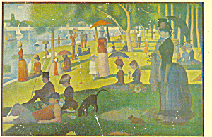 Sunday Afternoon on the Island of Grande Jatte 1884 86 p21118 (Image1)