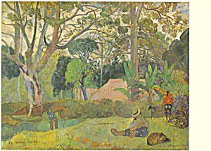 The Big Tree Te Raau Rahi Paul Gauguin Postcard p21127 (Image1)