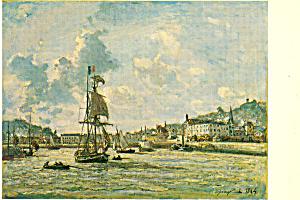 Harbor and Honfleur 1864 Johan Barthold Jongkind p21133 (Image1)