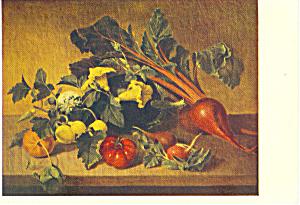 Still Life 1828 James Peale Postcard p21134 (Image1)