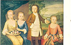 The Gore Children John Singleton Copley Postcard p21145 (Image1)