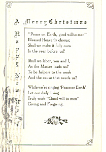 A Merry Christmas Postcard p21168 (Image1)
