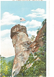 Chimney Rock NC Postcard p2116 (Image1)
