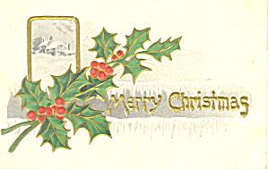 Merry Christmas Postcard p21191 (Image1)
