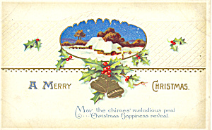 A Merry Christmas Postcard p21198 (Image1)