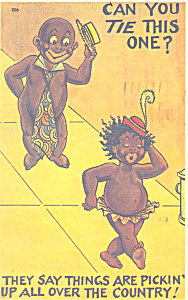 Can you tie this one Comical Postcard p21220 (Image1)
