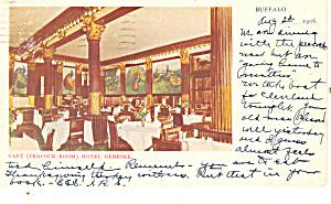 Cafe Peacock Room Hotel Genesee  Buffalo  NY p21224 (Image1)