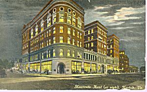 Monticello Hotel Norfolk Virginia Postcard p21235 (Image1)