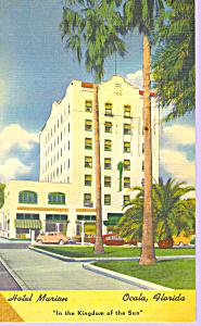 Hotel Marion  Ocala  Florida Postcard p21243 (Image1)