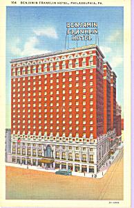 Benjamin Franklin Hotel Philadelphia Pennsylvania p21246 (Image1)