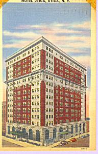 Hotel Utica Utica  New York Postcard p21261 (Image1)
