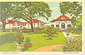 Hotel Thomas Gainsville Florida Postcard p21263 (Image1)