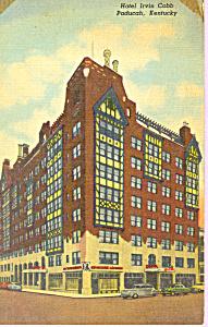 Hotel Irvin Cobb Paducah Kentucky Posdtcard p21267 (Image1)