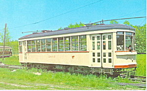 Car 2600 Montreal Tramways P21327