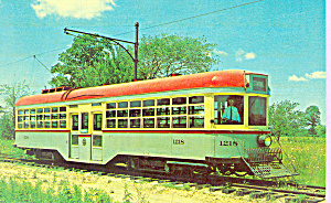 Car #1218 Cleveland Railway Center Door Trolley (Image1)