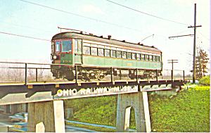 Car No 154 Chicago North Shore MIlwaukee Interburban p21349 (Image1)