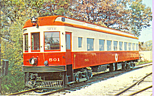 Car #501,Columbus Delaware and Marion Interburban (Image1)