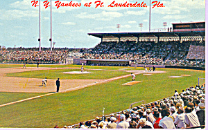 New York Yankees Spring Training Ft Lauderdale  FL p21375 (Image1)