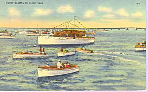 Motor Boating on Sunny Seas p21377 (Image1)