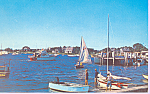 Sailboats in Southern New England Harbor p21379 (Image1)
