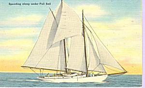Speeding Along Under Full Sail p21383 (Image1)
