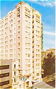 Los Angeles CA Mayflower Hotel  Postcard p2146 (Image1)