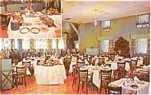 Boiling Springs PA Allenberry Buffet Postcard p2148 (Image1)