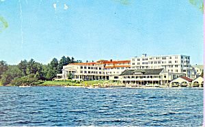 Saranac Inn Saranac  New York Postcard p21568 (Image1)
