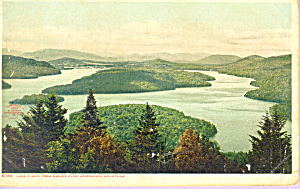 Lake Placid NY from Eagle s Eyrie p21574 (Image1)