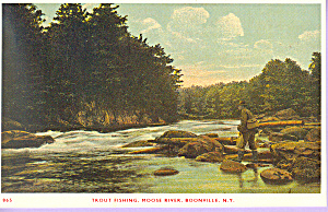 Trout Fishing Moose River Boonville New York p21575 (Image1)
