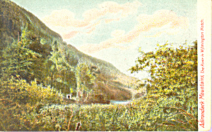 The River in Wilmington Notch, Adirondacks,New York (Image1)